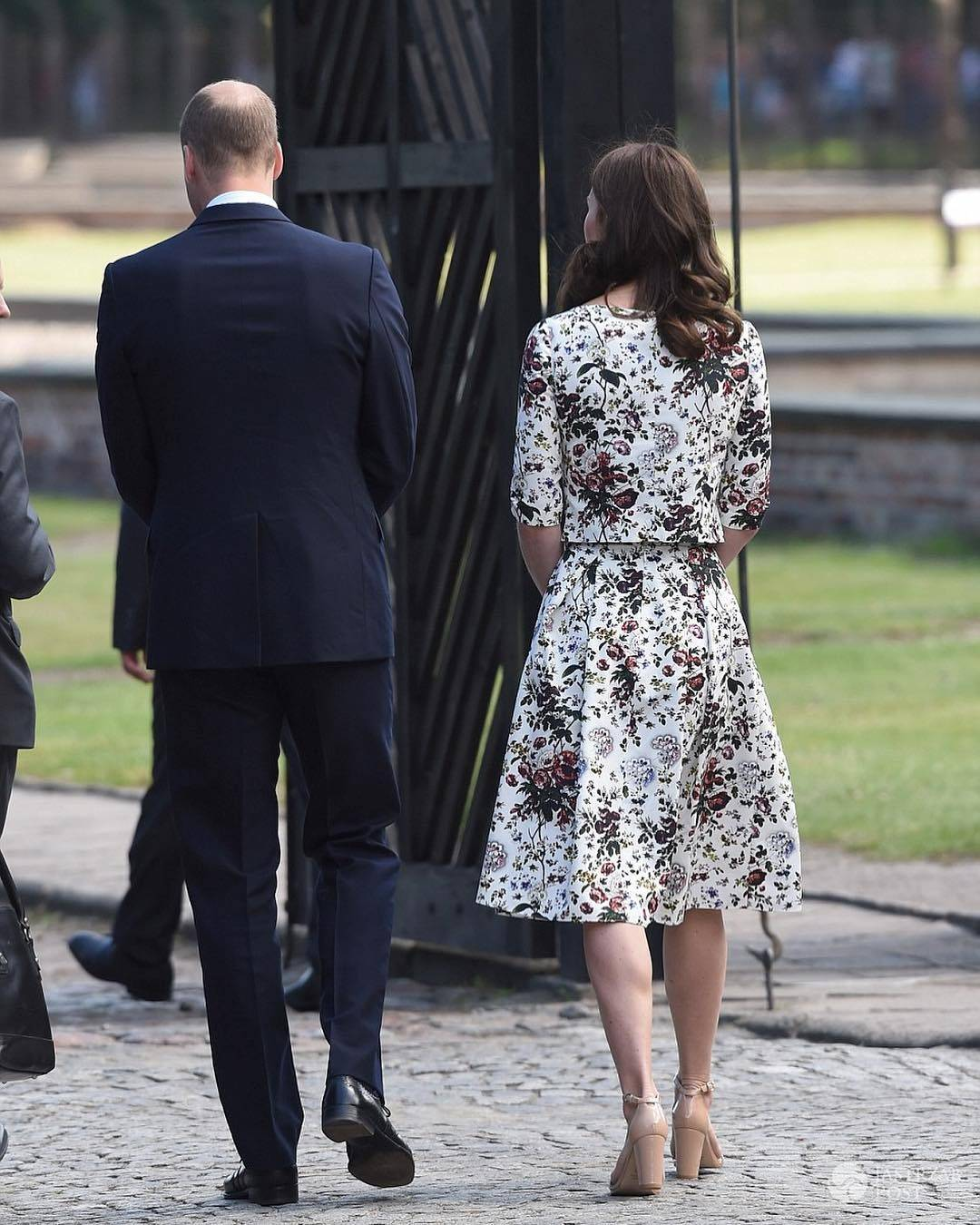 Kate i William w Stutthof