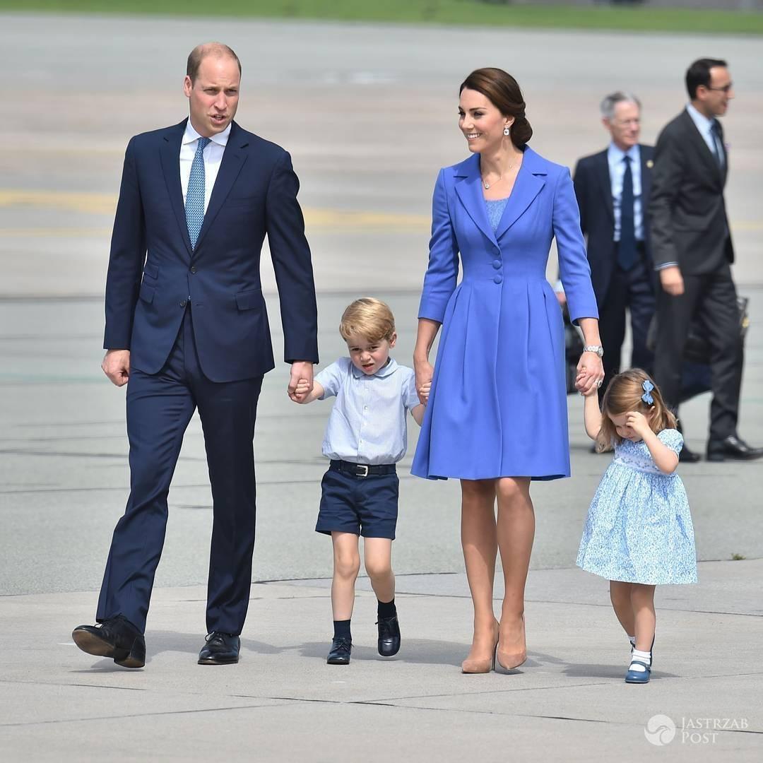 Książęca para przed wylotem do Berlina
