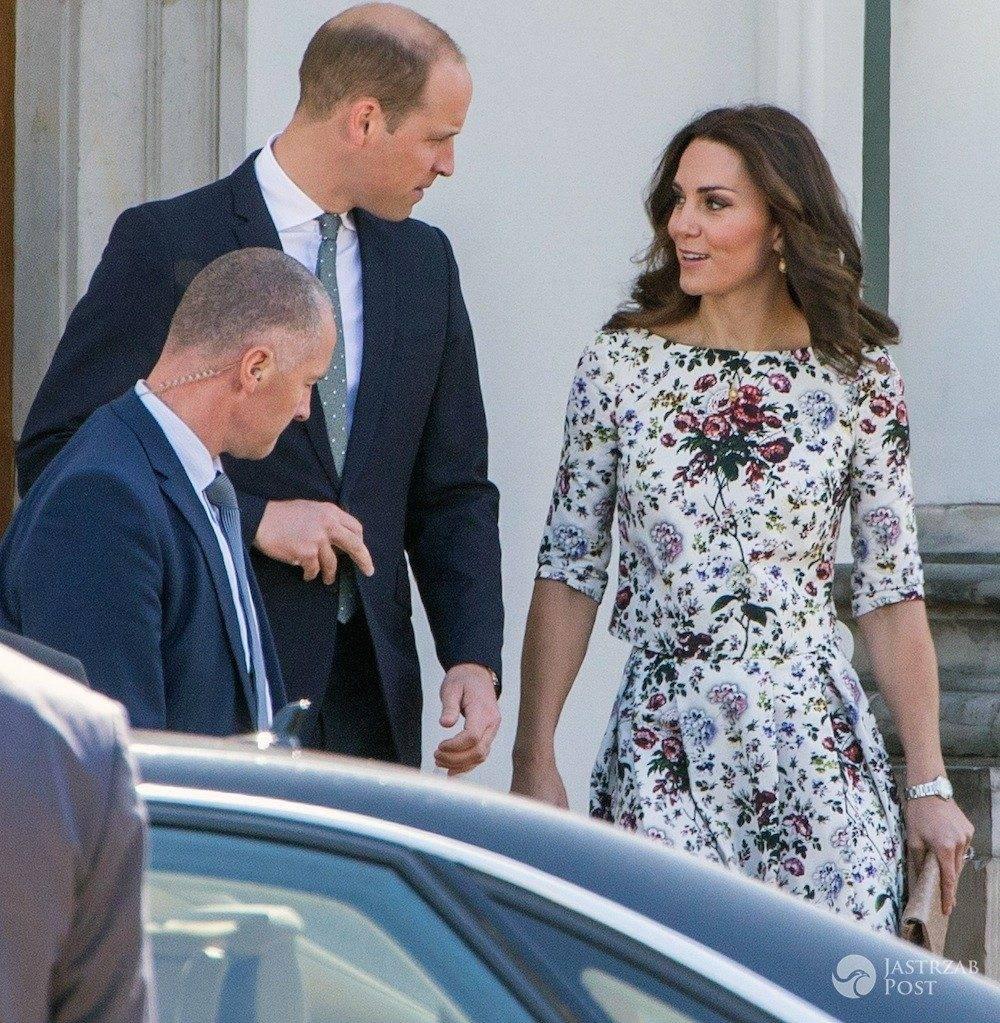 Kate i William w Polsce, przed wylotem do Gdańska