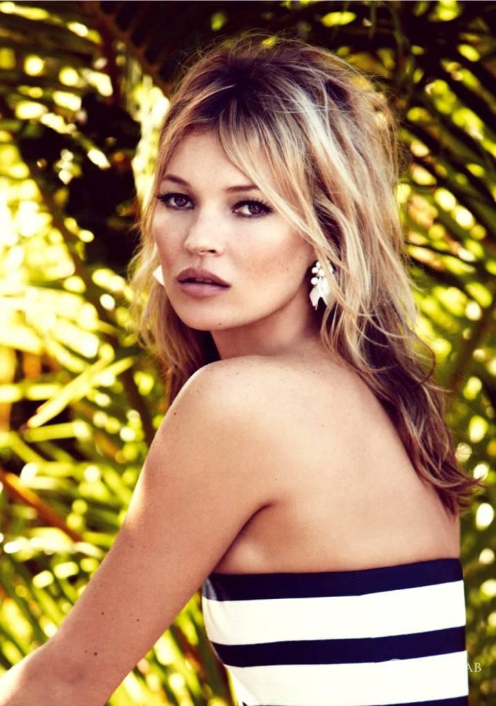 Kate Moss twarzą polskiej marki Reserved