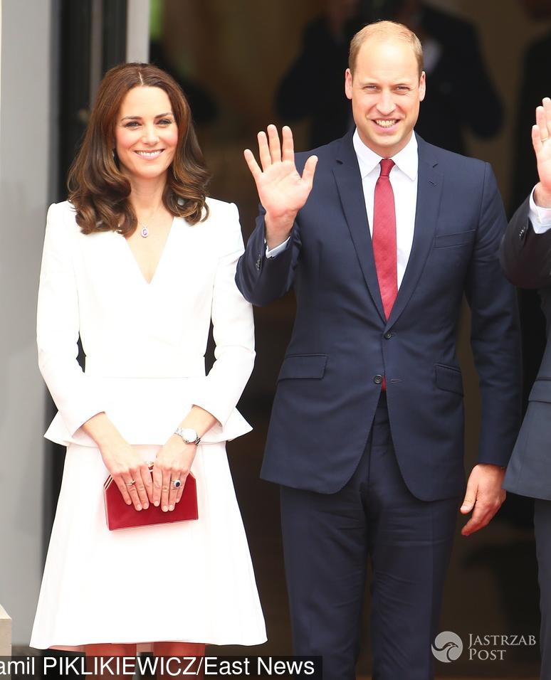 Księżna Kate i książę William w Polsce