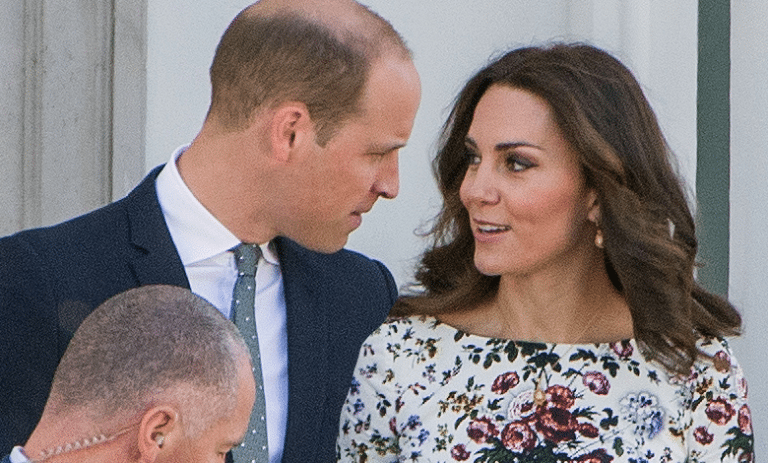 Kate i William w Gdańsku
