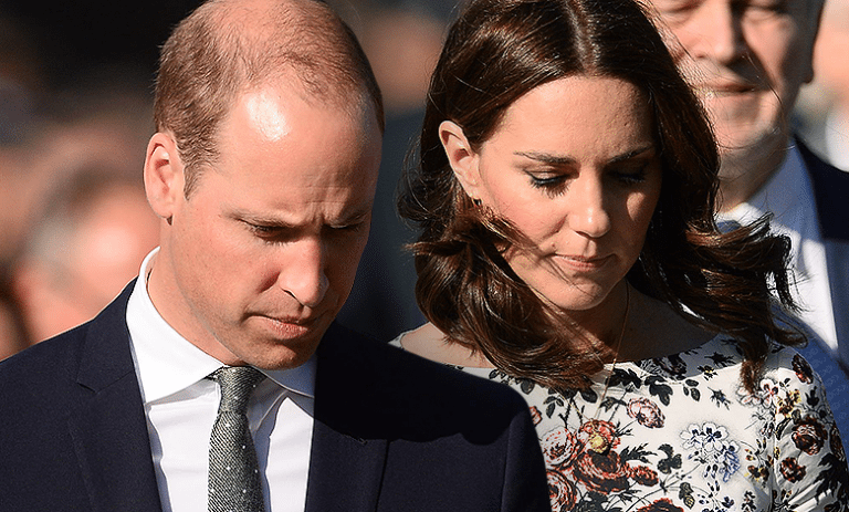 Kate i William w Stutthof, wpadka Time