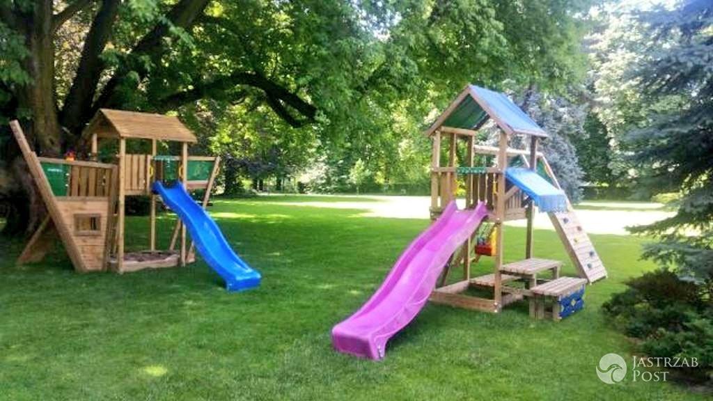 Plac zabaw dla dzieci Kate i Williama w Polsce
