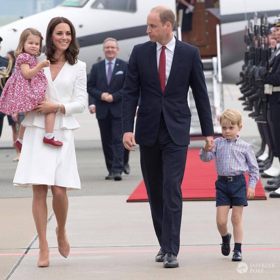 Para książęca wyladowała w Polsce