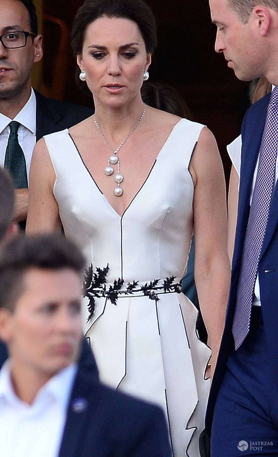 Księżna Kate w kreacji polskiej marki w Łazienkach