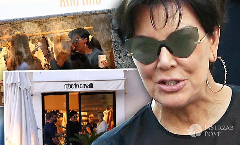 Kris Jenner w Saint Tropez zdjęcia