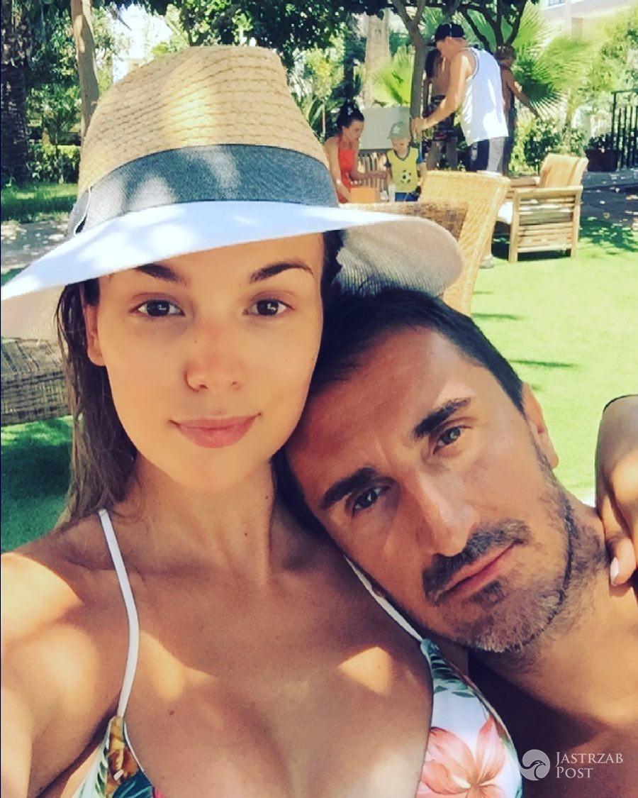Paulina Krupińska i Sebastian Karpiel-Bułecka na wakacjach