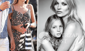 Lily Rose i Kate Moss