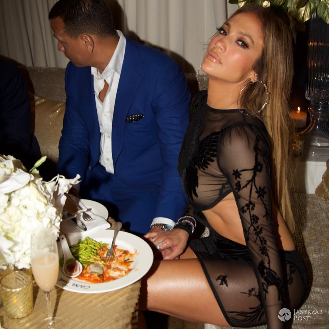Jennifer Lopez i Alex Rodriguez na 48 urodzinach gwiazdy
