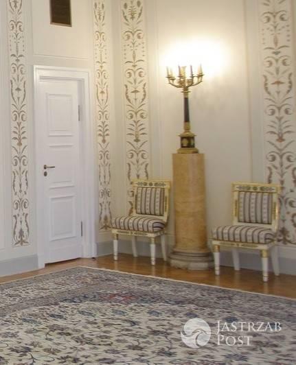 Zdjęcia ze środka willi prezydenta