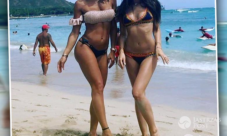 Marina i Sara Boruc w Grecji