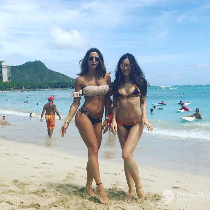 Marina Łuczenko i Sara Boruc razem na wakacjach