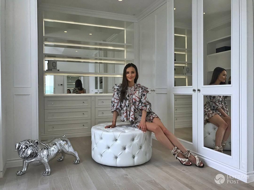 Marina Łuczenko chwali sie nową garderobą