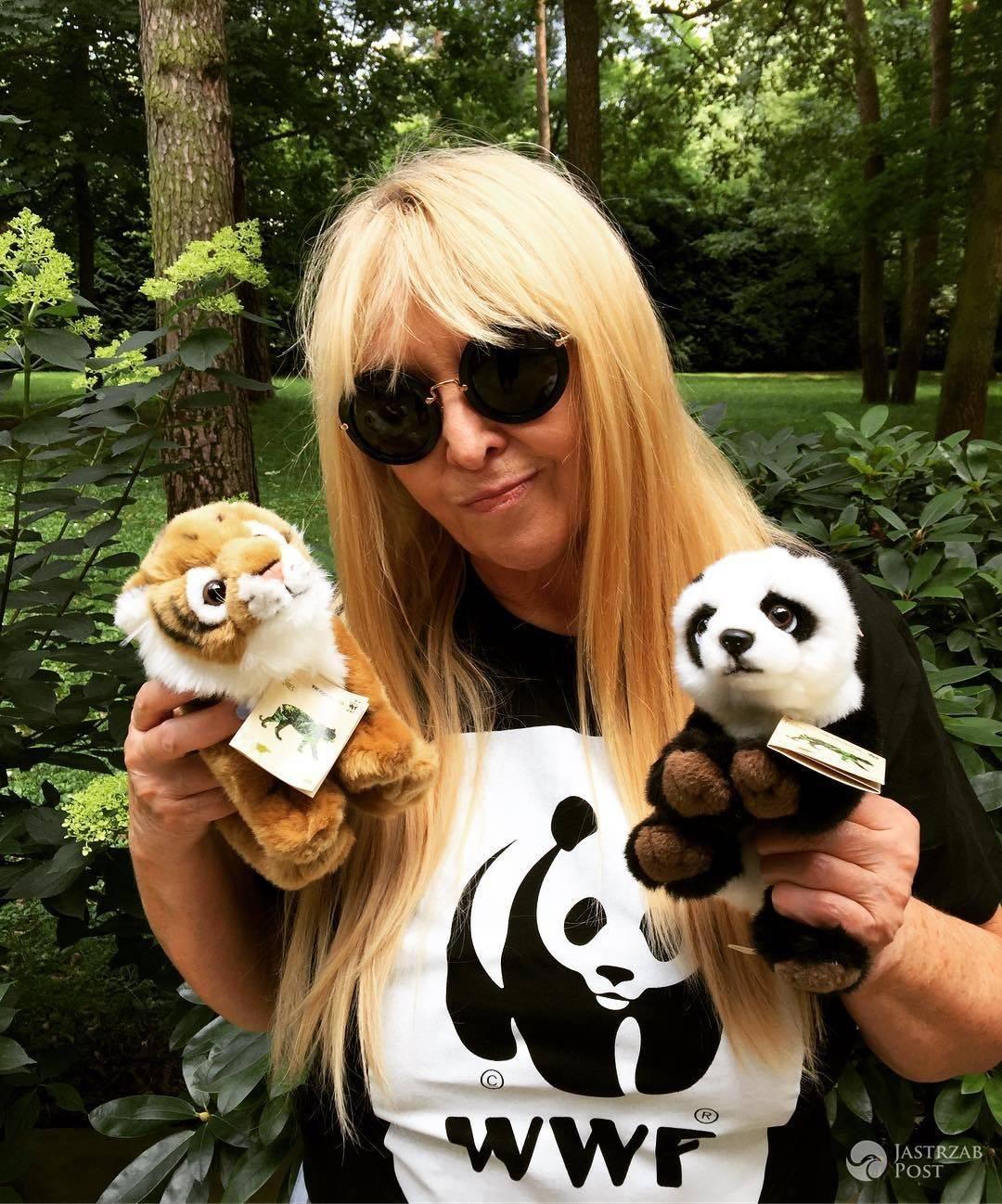 Maryla Rodowicz wspiera Światowy Dzień Tygrysa (WWF Polska)
