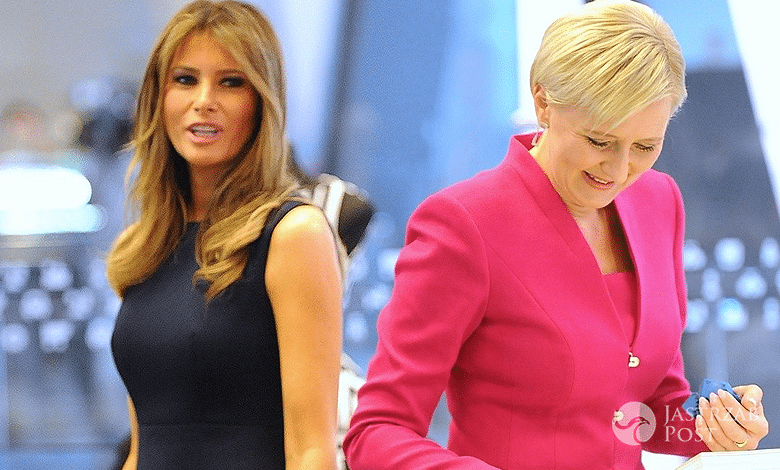 Melania Trump wpadka w Polsce Agata Duda