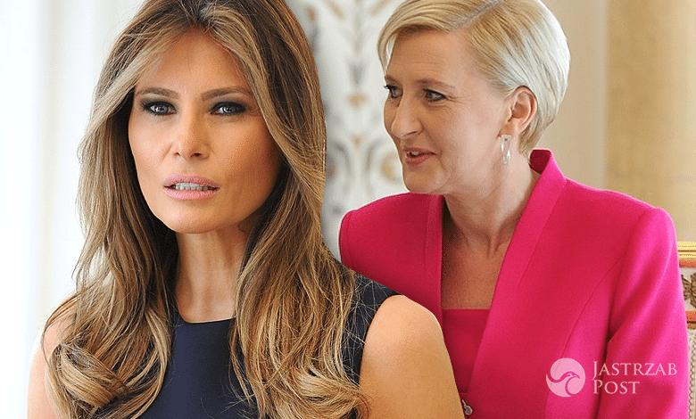 Melania Trump, Agata Duda, spotkanie
