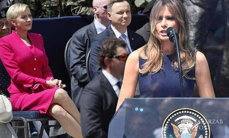 Melania Trump przemówienie w Polsce