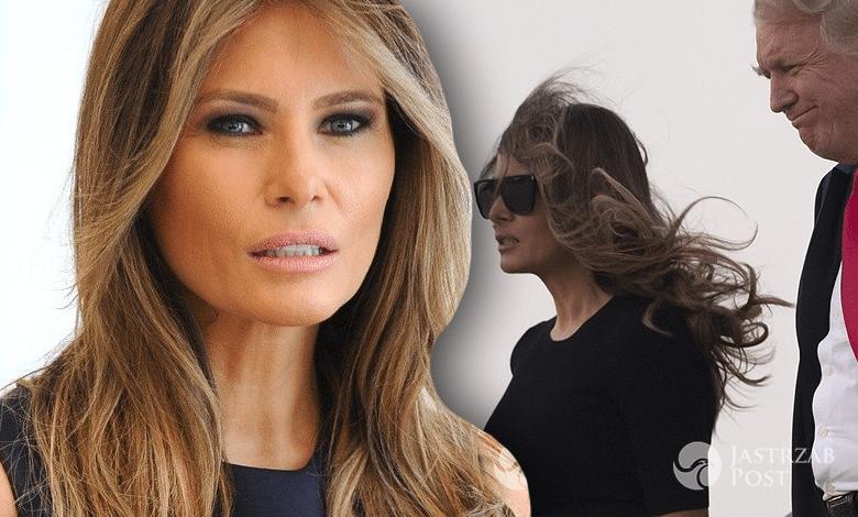 Melania Trump wiatr
