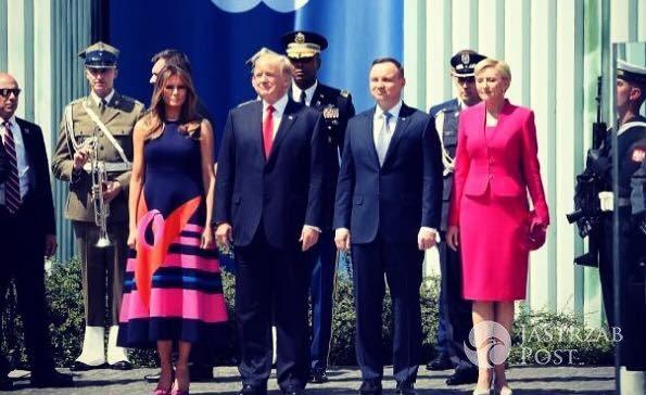 Melania Trump skomentowała wizytę w Polsce!
