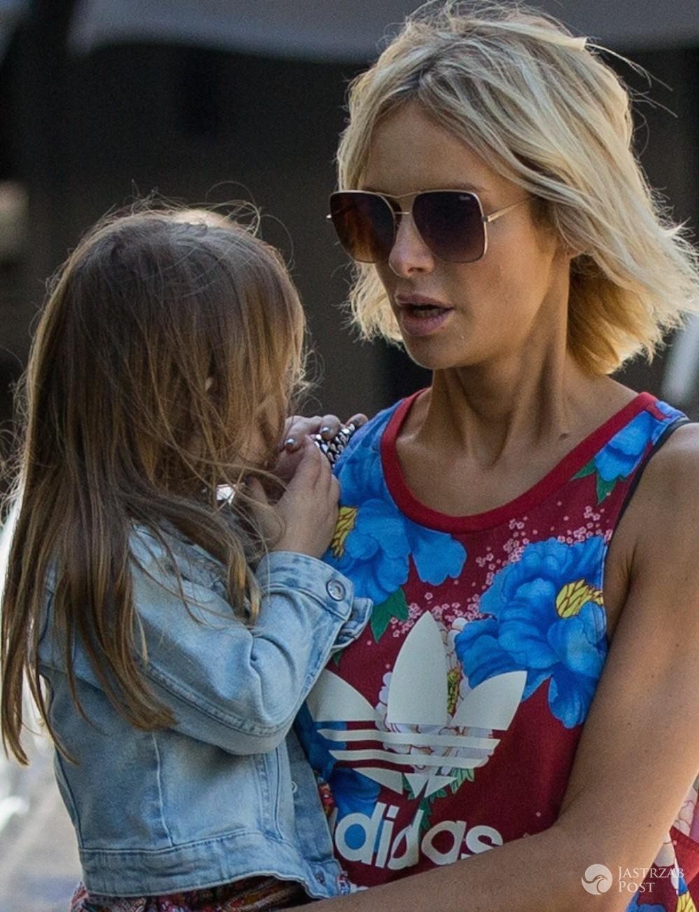 Magdalena Mielcarz z córką