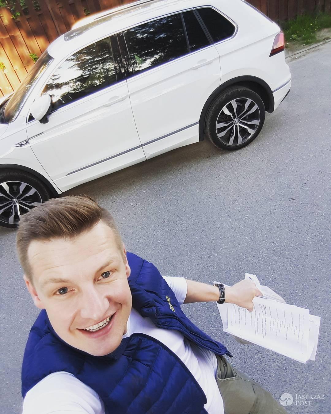 Rafał Mroczek nie dostał samochodu za darmo