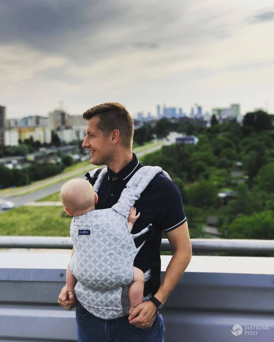 Rafał Mroczek na Instagramie pokazał córkę