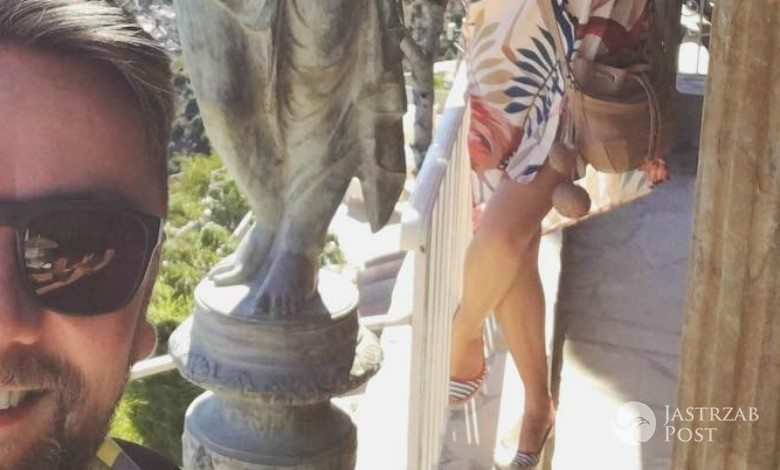 Aleksandra Kwaśniewska i Kuba Badach na wakacjach we Francji