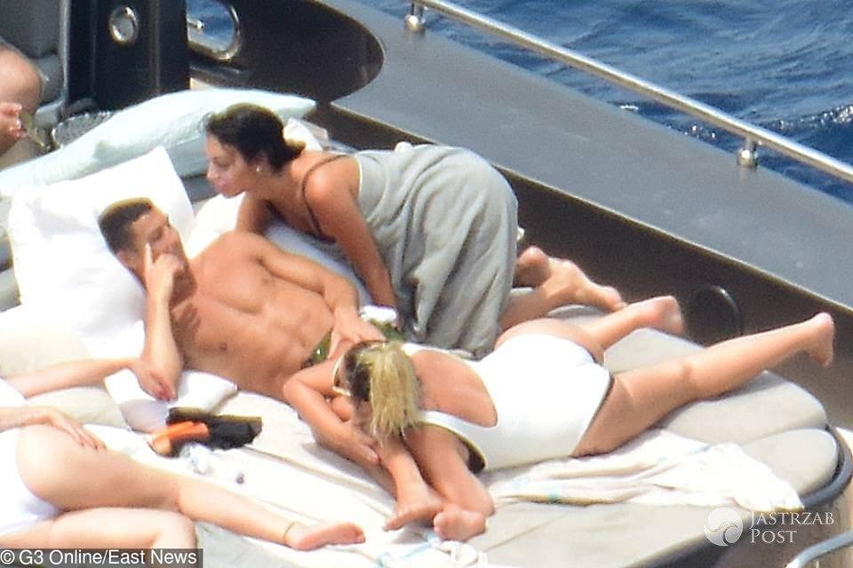 Ronaldo z rodziną odpoczywa na jachcie w Hiszpanii