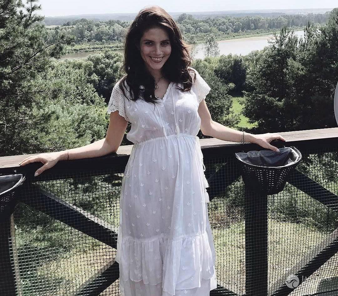 Weronika Rosati ciążowy brzuszek