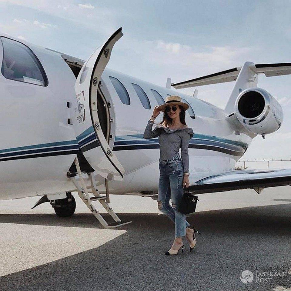 Marina Łuczenko dostała samolot o Wojtka Szczęsnego