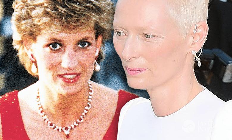 Tilda Swinton wspomina księżną Dianę