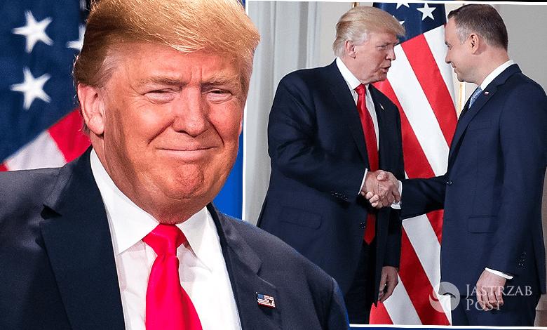 Donald Trump przemówienie na Zamku Królewskim w Polsce