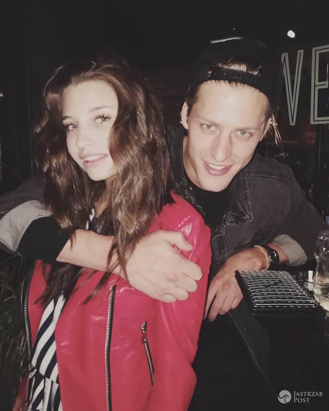Julia Wieniawa i Jakob Kosel na urodzinach Jessiki Mercedes