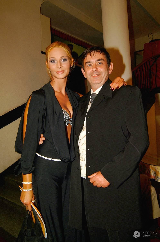 Marek Wysoki zmarł. Był dyrektorem konkursu Miss Polski, na zdjęciu z Beatą Kuroczycką