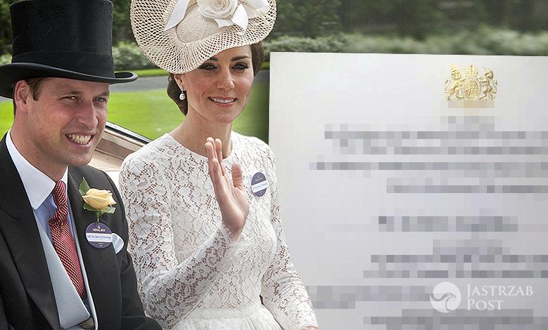 Zaproszenie na spotkanie z księżną Kate w Łazienkach