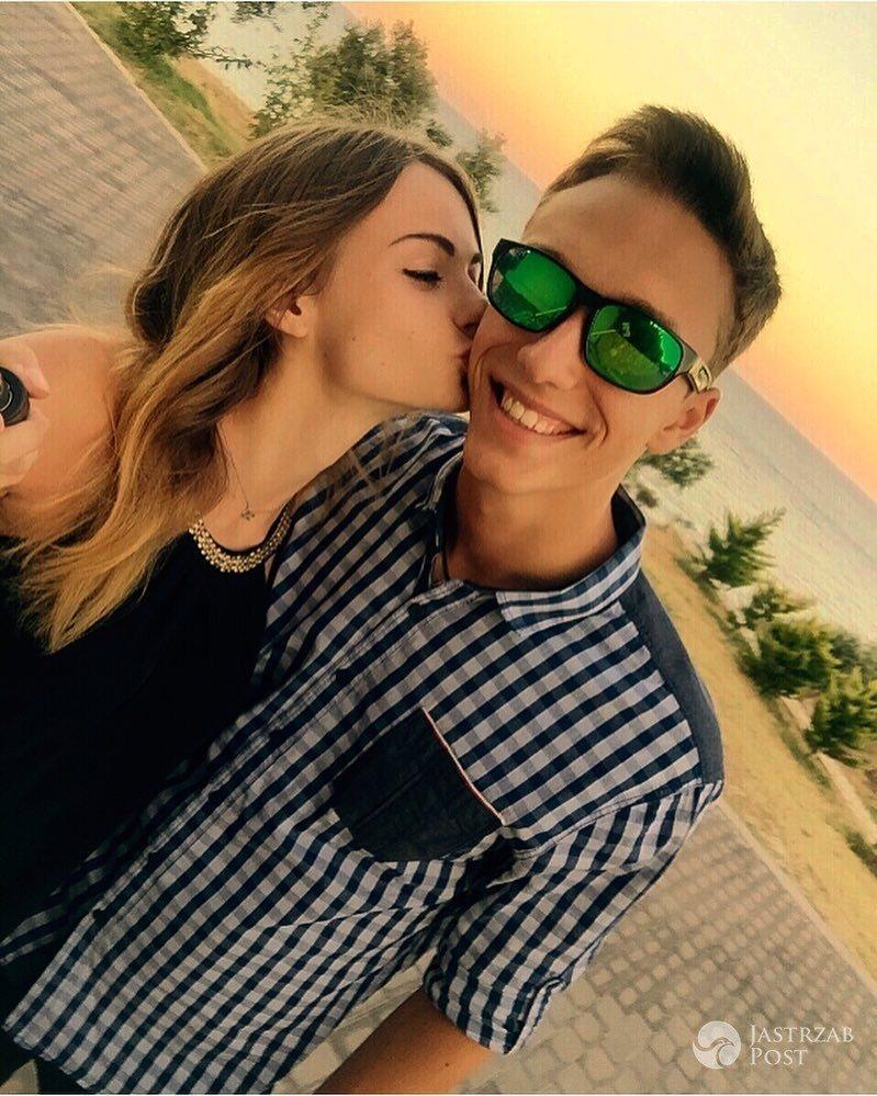 Karolina Małysz z chłopakiem