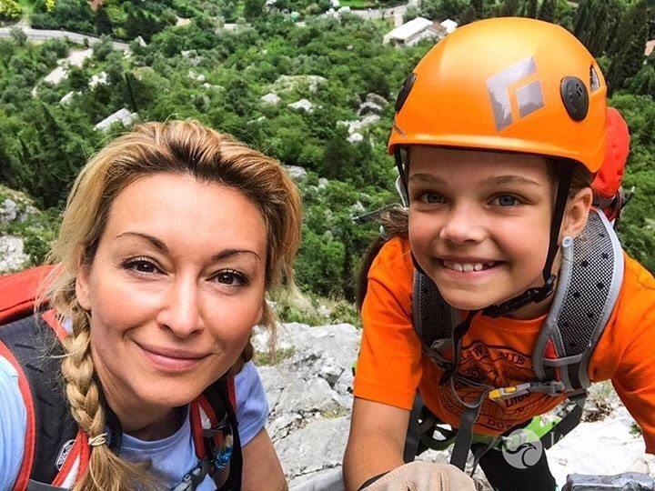 Martyna Wojciechowska zabrała córkę w Dolomity