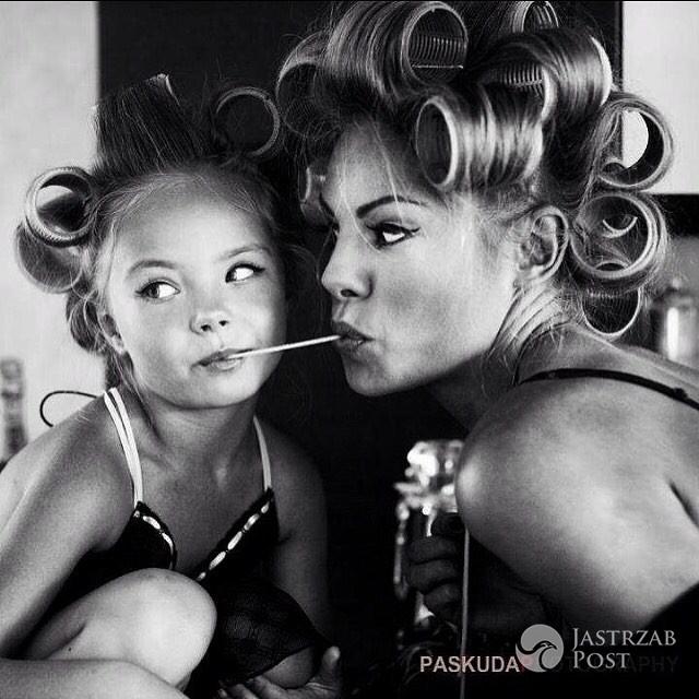 Zdjęcie (8) Córki Magdy Modrej wyrosły na przepiękne dziewczyny. Mia i Lea złamią niejedno serce. Co za uroda