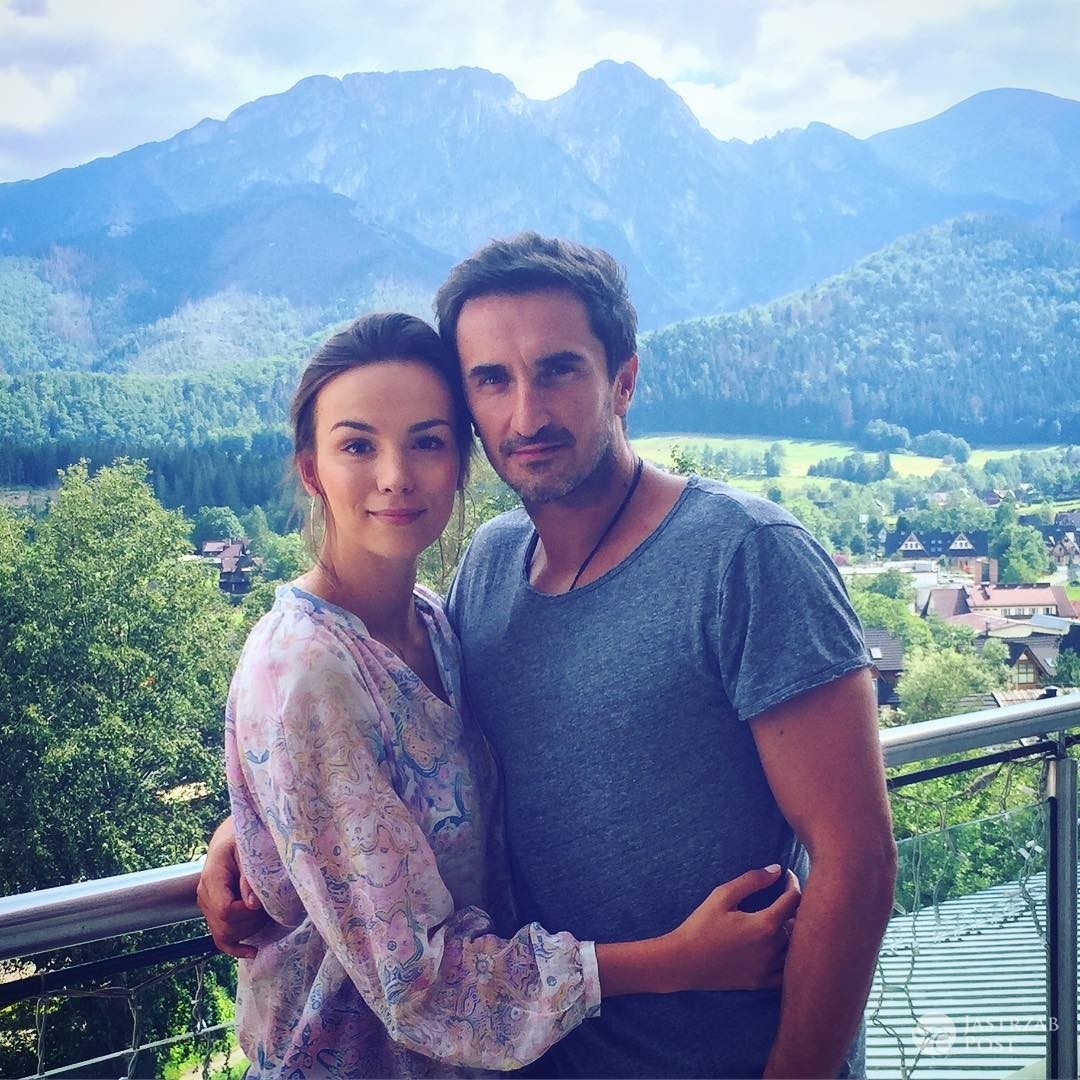 Paulina Krupińska i Sebastian Karpiel-Bułecka w górach