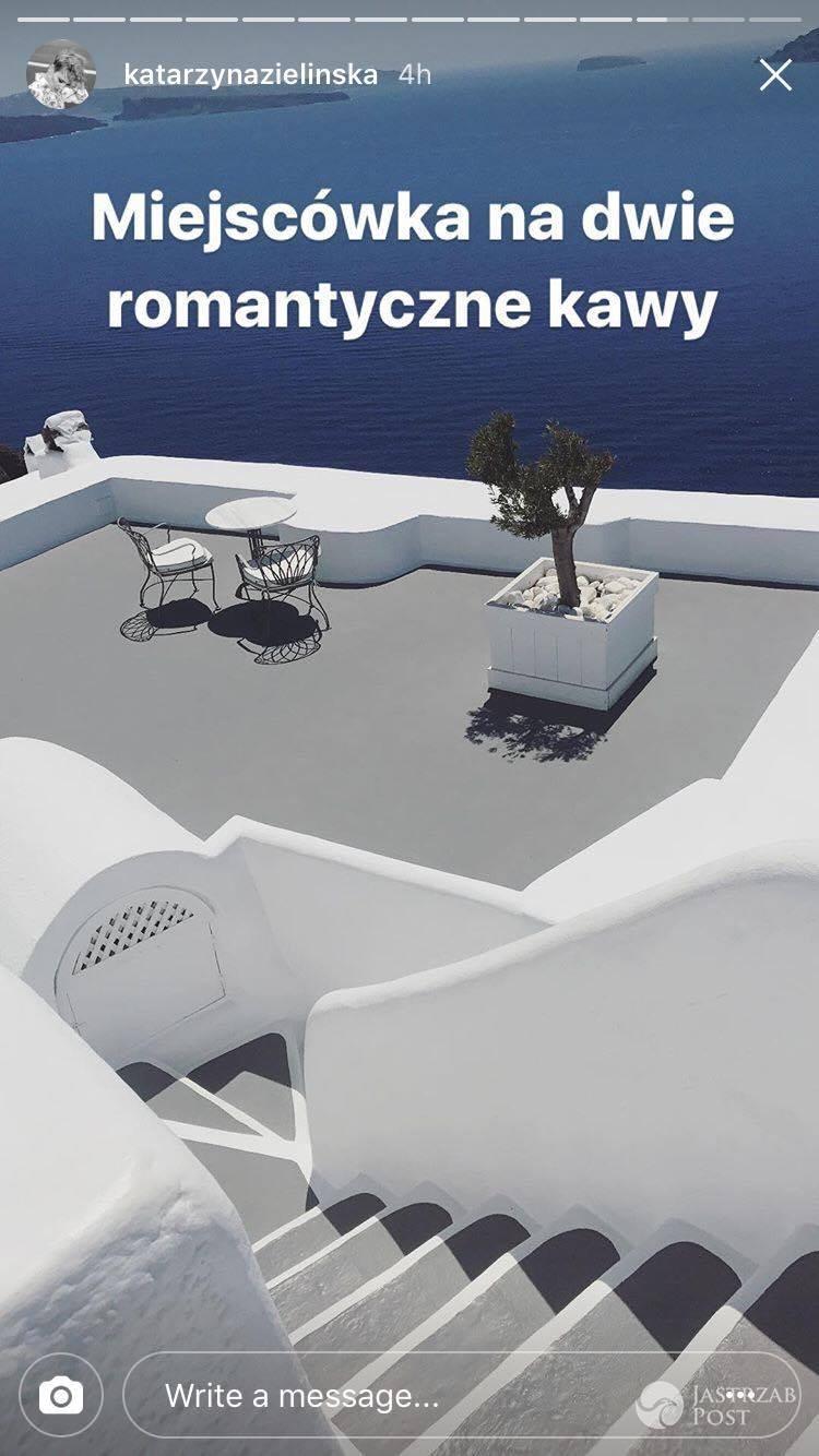 Katarzyna Zielińska pokazała fotki z wakacji na greckiej wyspie