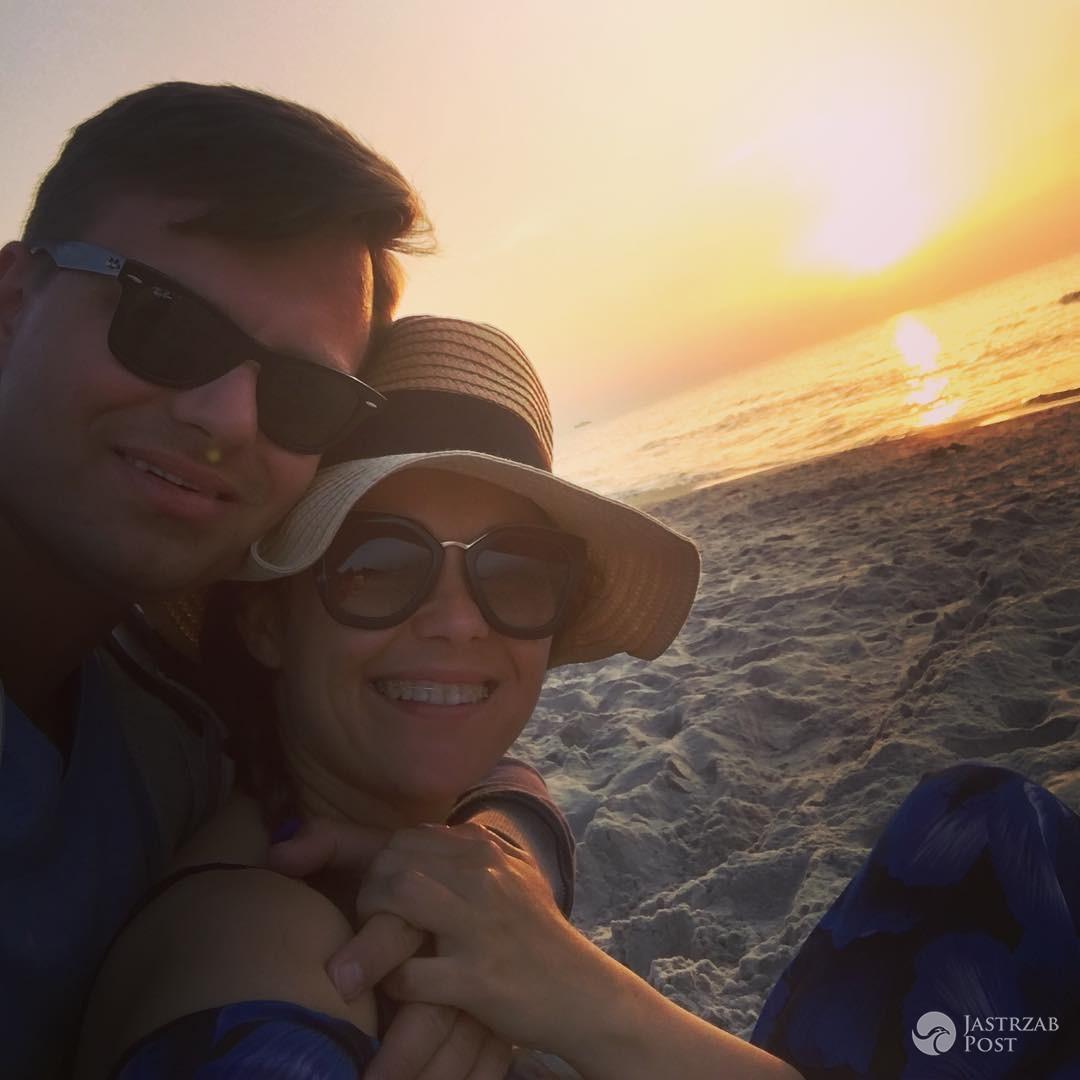 Katarzyna Cichopek i Marcin Hakiel na wakacjach nad Bałtykiem