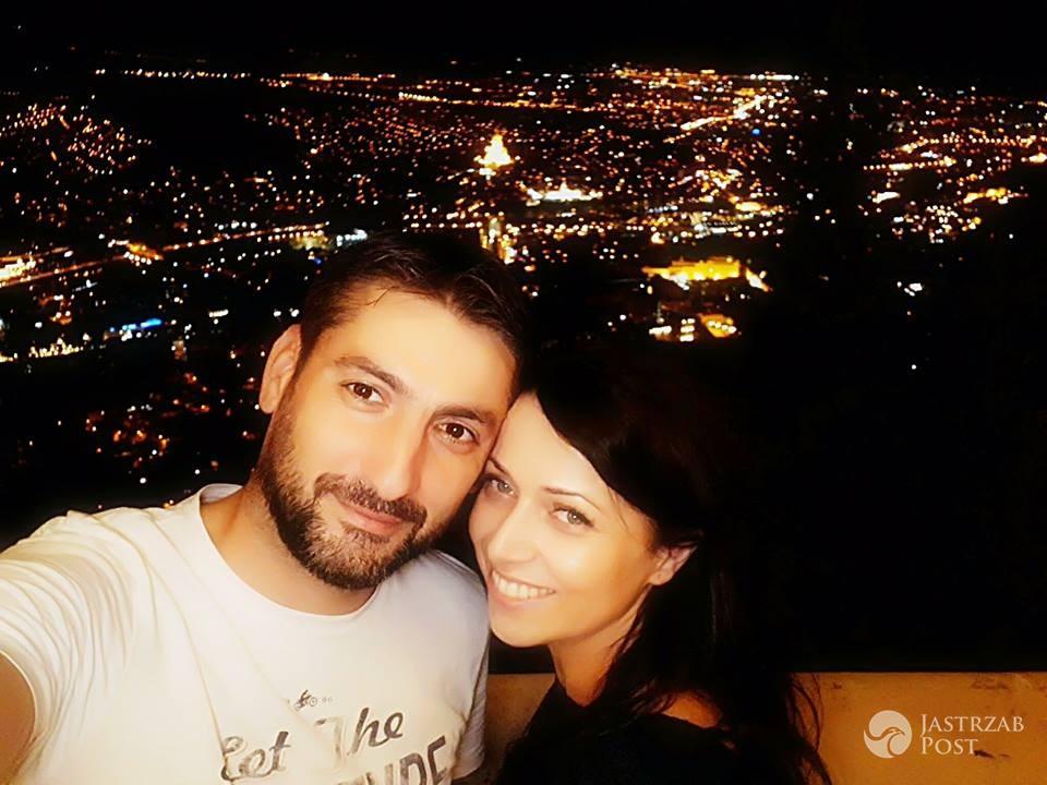 Katarzyna Pakosińska z mężem dziękują za wesele
