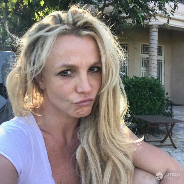Britney Spears bez makijażu