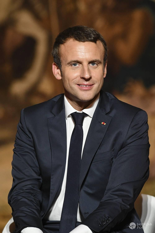 Emmanuel Macron jak dba o siebie?