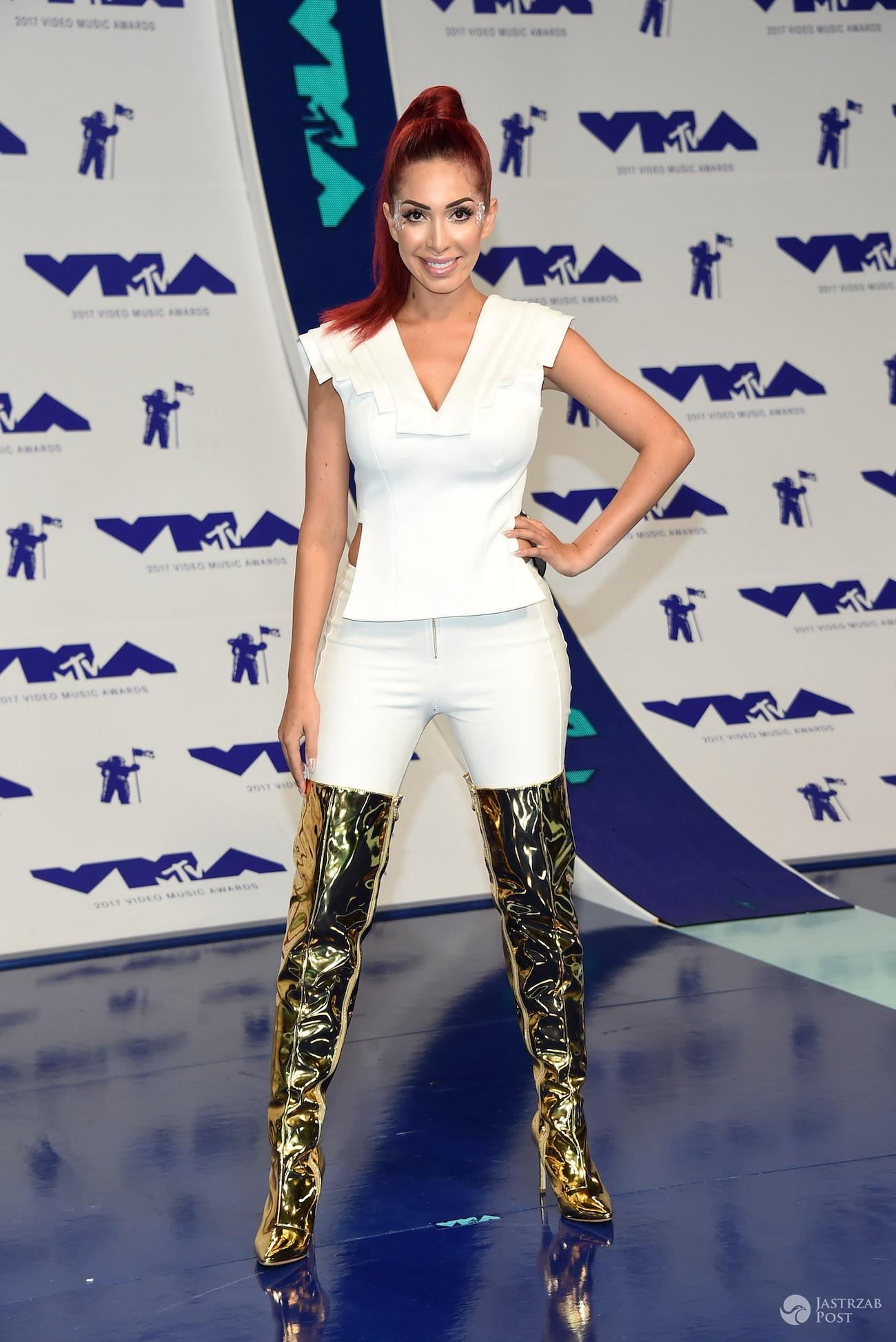 Farrah Abraham - MTV VMA 2017 - najgorzej ubrani