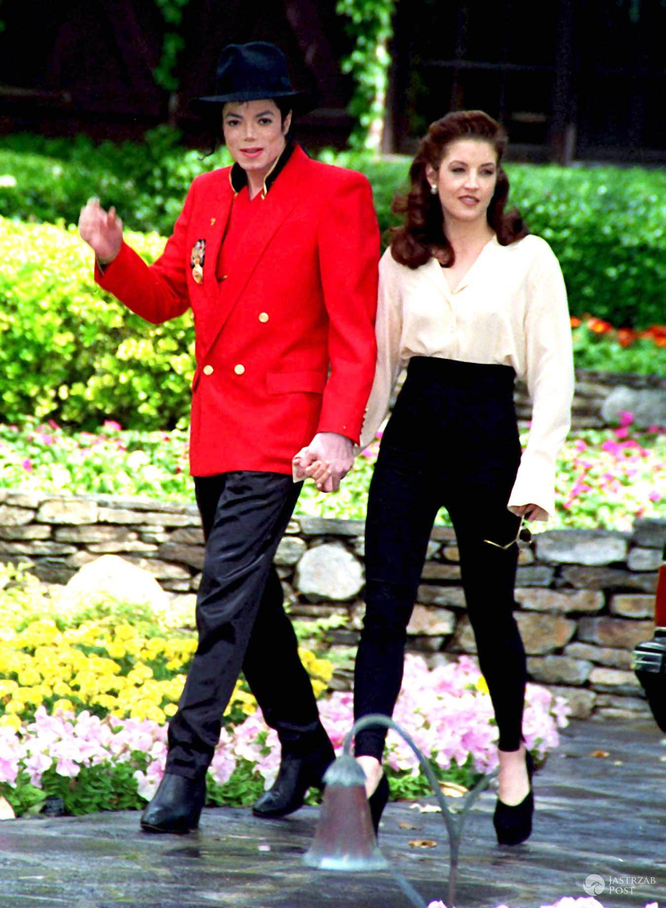 Michael Jackson i Lisa Marie Presley