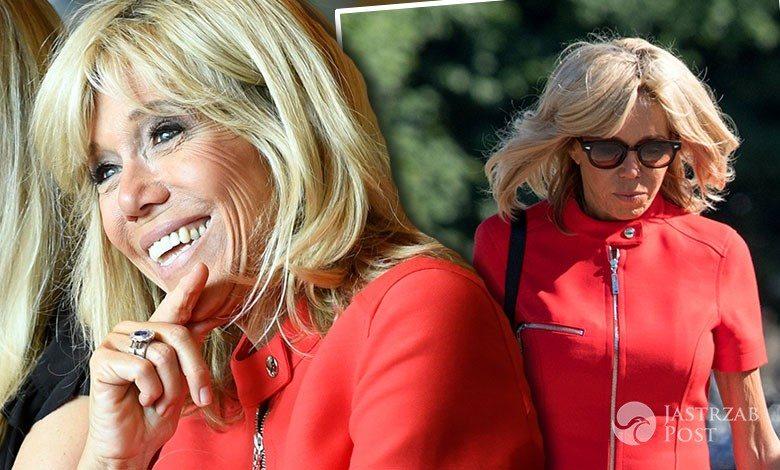 Brigitte Macron na spotkaniu z kanclerzem Austrii
