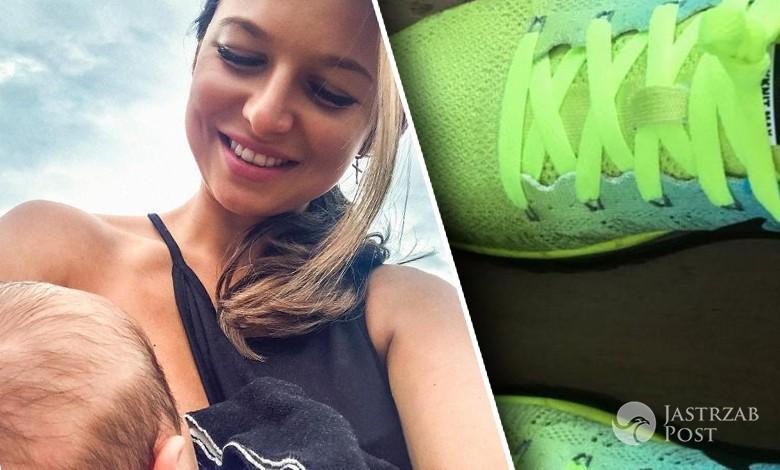 Klara Lewandowska ma buty z własnym imieniem