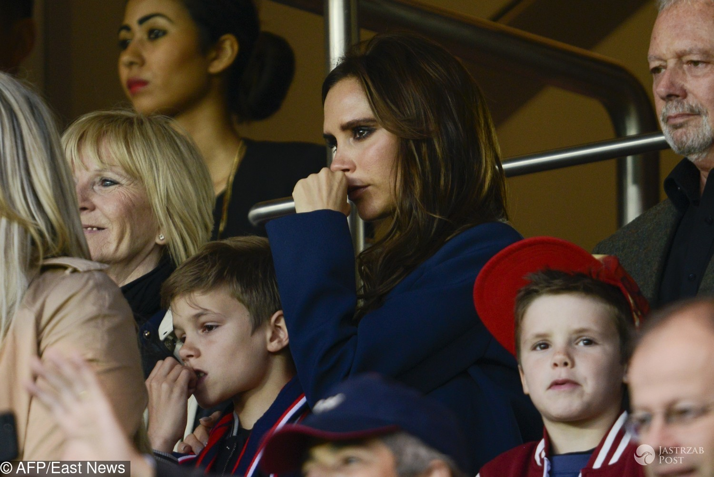 Victoria Beckham płacze